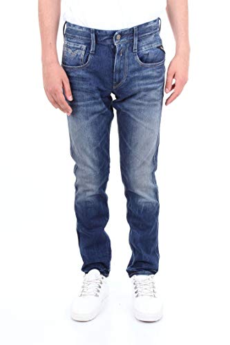 REPLAY Luxury Fashion Uomo MA91459A838BLUJEANS Blu Jeans   Stagione Outlet