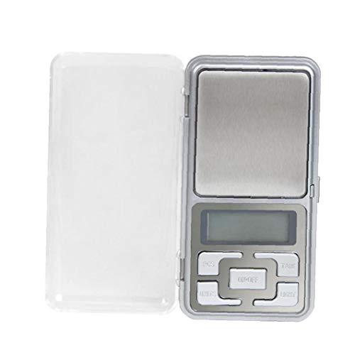 Case&Cover Domésticos De Cocina De Acero Inoxidable Balanzas Digitales Escala De Oro En Peso De Hierba LCD del Gramo De Alimentos Báscula Digital