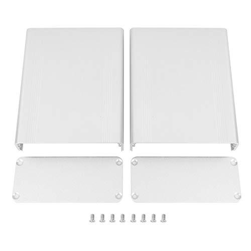 Schutzbox Wärmeableitungsbox Kühlgehäuse Elektronisch 1,5 * 3,5 * 4,3 Zoll Zubehör Aluminium-Wärmeableitung für Aluminiumbox