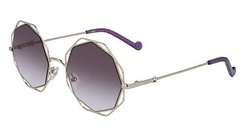 Liu Jo Gafas de Sol LJ128S Silver/Grey Shaded 53/21/140 mujer