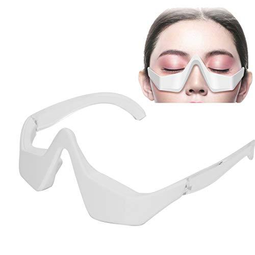 EMS Microcurrent Eye Massager, Eye Bag Dark Circle Élimination des rides fines, favorise l'absorption de la crème pour les yeux, atténue la mélanine, améliore la fatigue oculaire, raffermit sous yeux