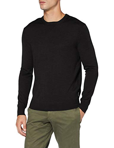 ARMANI EXCHANGE Pullover Sweater Maglione, Heather Carboncino, S Uomo