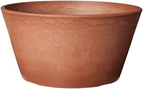 Arcadia Garden Products TD25TC PSW Sleek Bulb Pan, 10 by 5-Inch, Terra Cotta