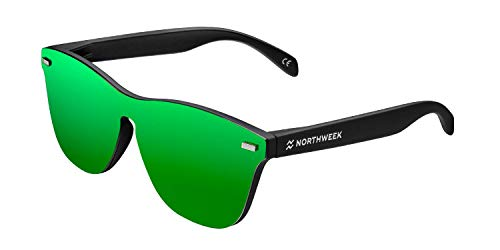 NORTHWEEK Regular Phantom Venice Gafas de Sol, Green, 140 Unisex