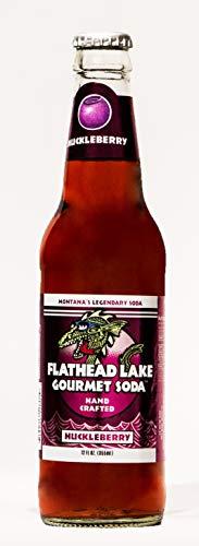 Flathead Lake Gourmet Soda (Huckleberry)