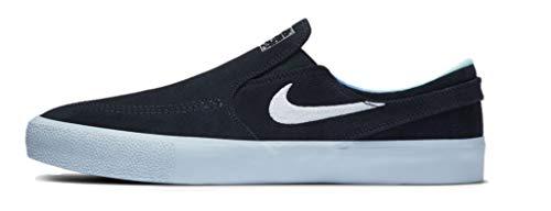 Scarpe Nike SB Zoom Stefan Janoski Slip RM Uomo - AT8899, blu (Ossidiana scura/Giada iper bianca), 44 EU