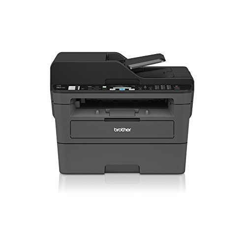 Brother MFC-L2710DW Mono Laser Printer | A4 | Print, Copy, Scan, Fax, Duplex Two-Sided Printing & Wireless + Extra Original TN2410 Brother Toner (Black, 1,200 Pages)