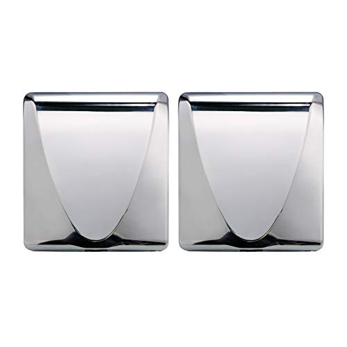 VALENS 2PCS Electric Hand Dryer with Filter, Efficiency Max Touchless Hand Dryer for Bathrooms Commercial Home Industrial, High-Speed Automatic Hand Air Dryer Machine for Restrooms, Stainless Steel