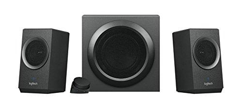Logitech Z337 Bluetooth Lautsprechersystem mit 80 Watt und Subwoofer (PC, Tablet, Smartphone)...