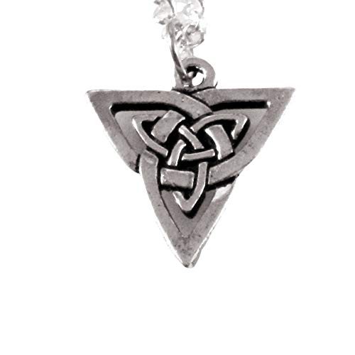 Small Celtic Triangle Knotwork Necklace 1520