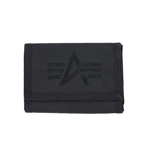 Alpha Industries Unisex Wallet Alpha, Color:Black