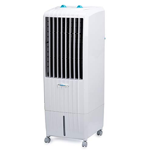 Symphony Diet 12T Personal Tower Air Cooler 12-litres, Multistage Air Purification, Honeycomb Cooling Pad, Powerful Air Throw & Low Power Consumption (White)