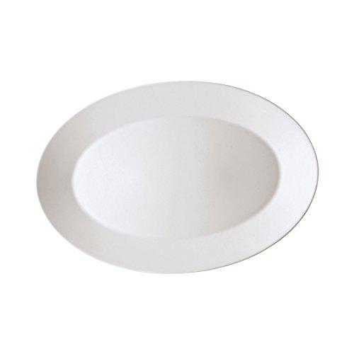 Arzberg Tric Plat, Plat de Service, Plat Accompagnement, Ovale, Plateau, White, Porcelaine, 33 cm, 49700-800001-12733