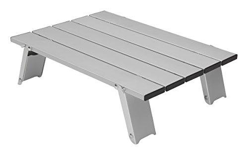 GRAND CANYON Mesa Micro de aluminio, pequeña mesa plegable para exterior, aluminio,...