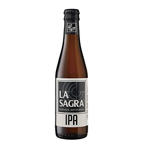 La Sagra Cerveza de Estilo India Pale Ale - 24 Paquetes de 330 ml - Total: 7920 ml