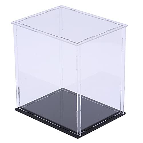 dailymall Vitrina Acrílica Transparente para Productos Coleccionables Caja de