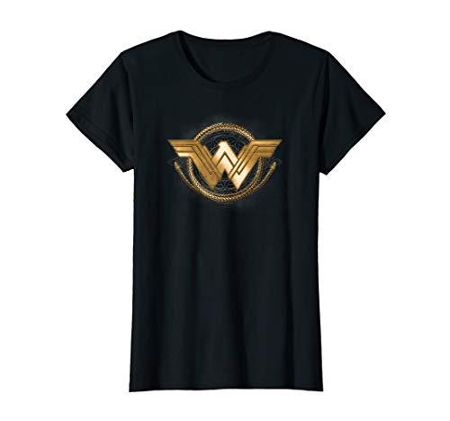 Wonder Woman Movie Golden Lasso Logo T-Shirt