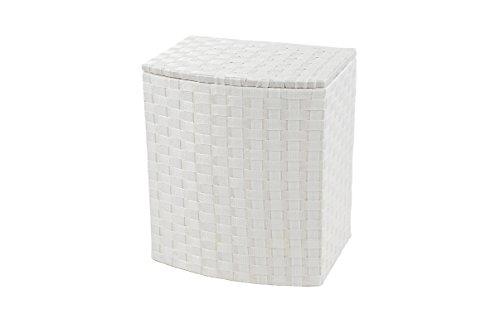 Kobolo Praktischer Wäschebehälter aus Nylon Deckel