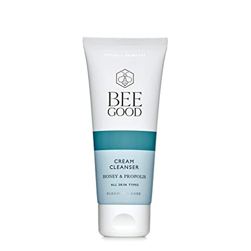 Honey and Propolis Cream Cleanser - Removes Makeup and Exfoliates -...