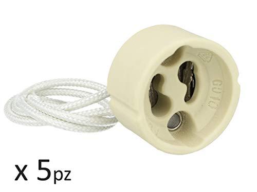 V-TAC 34235 VT-7888 5 x GU10 vliegenvanger (PVC-kabel)