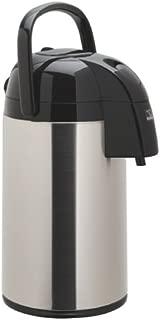 Zojirushi AAWE-30SB Supreme Air Pot Beverage Dispenser, 3.0 L, Polished Stainless