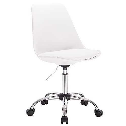 ZHANGNING Taburete ergonómico ajustable giratorio para bar y tocador, mesa de comedor...