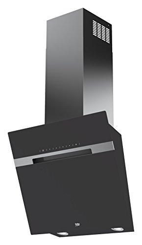 Beko HCA62844ZH Dunstabzugshaube/Kaminhaube/59.8 cm/pflegeleichte Metallfilter