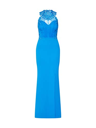 Lipsy Damen Abendkleid Heritage blau 34