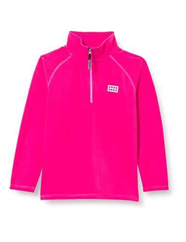 Lego Wear Jungen Half-Zip Jacket Fleece-Jacke, Dark Pink, 134