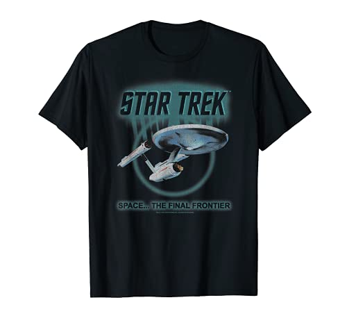 Star Trek Original Series Enterprise Glow Graphic T-Shirt