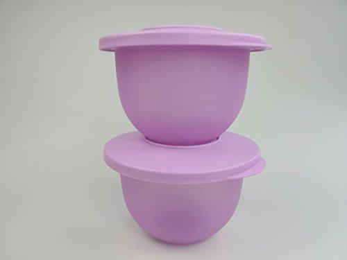 TUPPERWARE Junge Welle kleine Schüsseln lila 550 ml (2) Servieren Schale