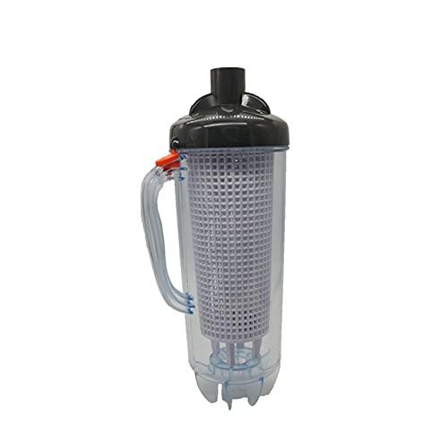 POHOVE Limpiador automático de succión de hoja, para piscina, con cesta de malla y mango de rama, apto para aspiradora de piscina, barredora automática