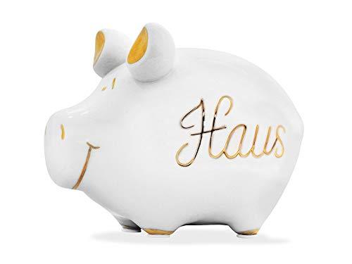 KCG Sparschwein Haus Kleinschwein Sparbüchse Spardose