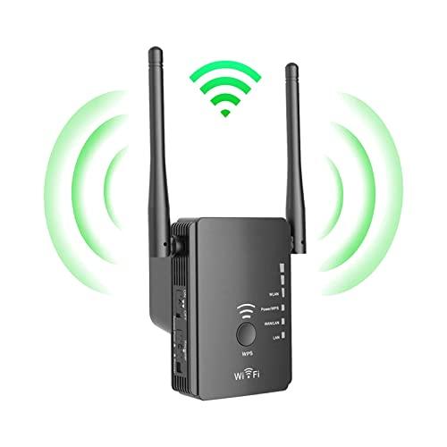 Amplificador Señal de WiFi Repetidor 2.4G 300Mbps Repetidor de Wi-Fi/Punto de Acceso/Soporte de enrutador Enchufe Extensor de Rango de WiFi de Banda Ancha