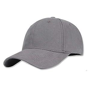 [plum forest] ライフスタイル キャップ メンズ 帽子 コットン 100% フリーサイズ(グレー)