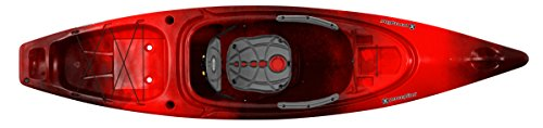 Perception Sound 10.5   Sit Inside Kayak for Fishing and Fun   Two Rod Holders   Large Rear Storage...