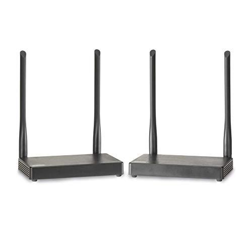 Marmitek TV Anywhere Wireless HD - Estensore HDMI - HDMI senza fili - Full HD - copertura in tutta casa - loopthrough - APP - guarda la TV in un altro posto senza cavi - KVM, Grigio