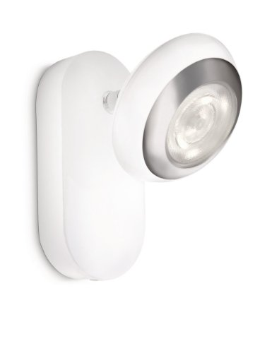 Philips LED-Wandspot 1-flammig 3 W, weiß 571703116