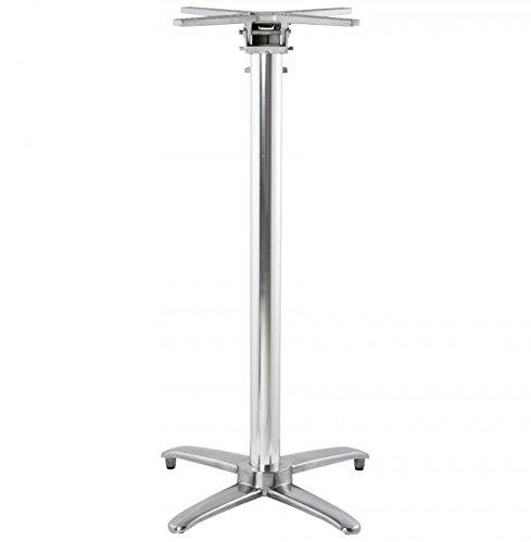 Clear Seat Pied de Table (sans Plateau) 110cm ALU 62x62x110 cm