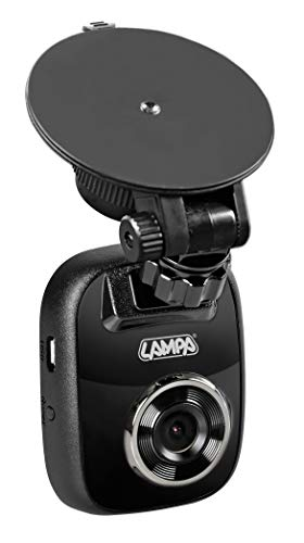 Lampa 38660 Dash Cam Black Box Pro, telecamera veicolare 1080P - 25 fps - 12/24V