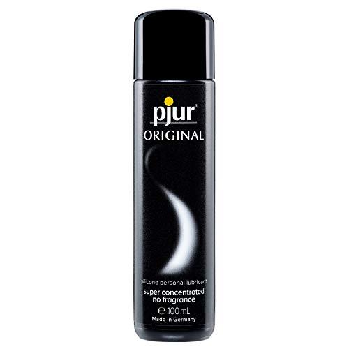 pjur ORIGINAL - Gel lubrifiant supérieur à base de silicone - Lubrification longue durée, sans coller - Très généreux (100ml)