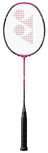YONEX Voltric Force LCW Badminton Schläger (4U, G4)–Dark Pink