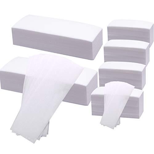 BQTQ 600 Pcs Waxing Strip Body Facial Non-Woven Wax Strips for Women and...