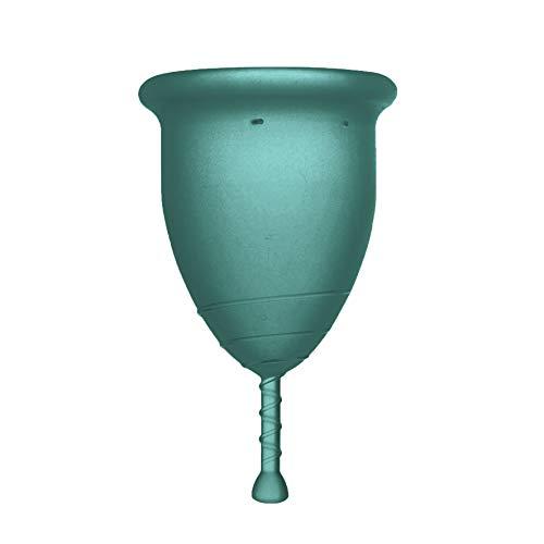 Rainbowcup Coupelle menstruelle fabriquée en Italie en silicone médical Choisissez la tonalité, la taille et la couleur Taglia 2 turquoise