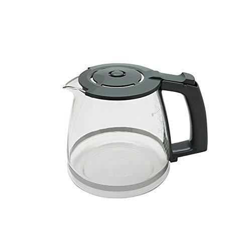 Ersatzkanne Glaskanne grau für Siemens Kaffeemaschine TC3A0103 - TC3A0170