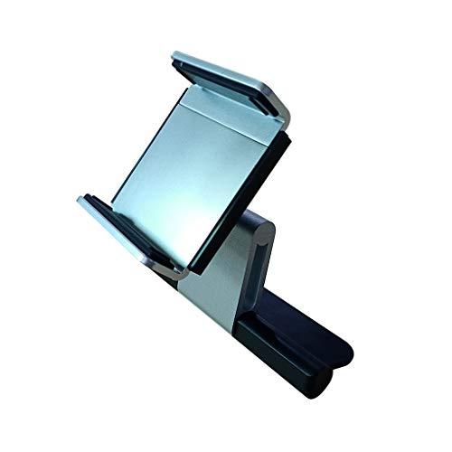 Kesilian Aleación de Aluminio giratoria 360 CD de Coche Universal Ranura Soporte para teléfono móvil GPS Soporte de Montaje en Cellphoone 3,5-5,5 Pulgadas