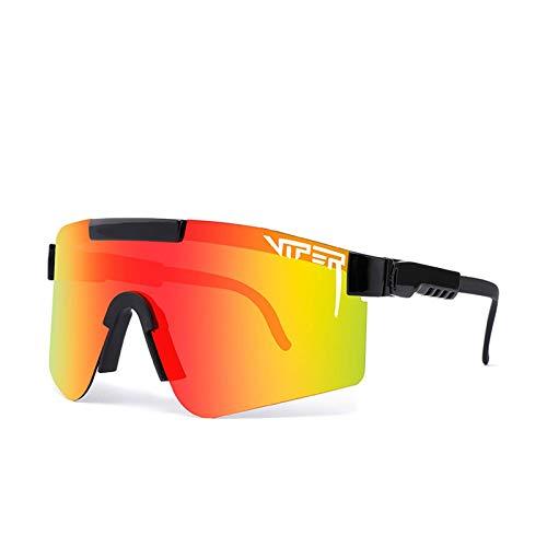 PitViper Gafas de sol polarizadas para deportes al aire libre, gafas de sol polarizadas para ciclismo al aire libre, gafas deportivas a prueba de viento uv400 polarizadas para hombres y mujeres