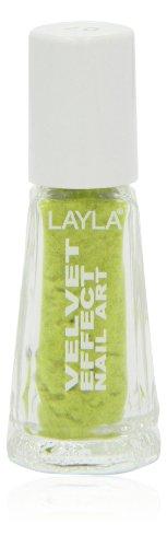 Layla Cosmetics Milano Vernis à Ongles Velvet Effet Lemon Soft 5 ml