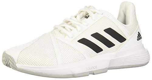 Adidas CourtJam Bounce W, Zapatos de Tenis Mujer, FTWR White/Core Black/Matte Silver, 38 2/3 EU