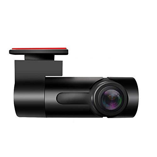 Maiqiken Dash CAM Grabador de Conducción de Automóviles WiFi Mini Cámara del Coche 1080P FHD DVR ángulo Amplio de 170° G-Sensor grabación en Bucle 270 ° Rotación